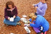 Geocaching - great fun for all at Thorndon Country Park Essex