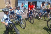 All ages can take part in our community rides