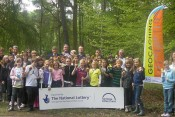 Launch of our Lottery-funded parks geocaching project