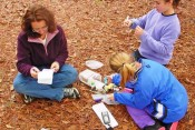Some families make geocaching a long-term activity