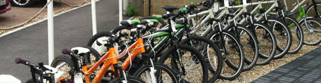 Cycle hire essex Thames Chase