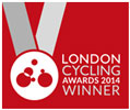 RESPOKE PROJECT LONDON CYCLING AWARD WINNER